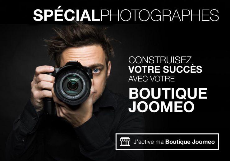 J'active ma boutique Joomeo