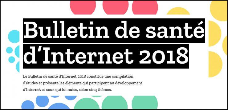 Comment se porte internet en 2018