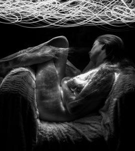 Light Painting en noir et blanc - ©StéphaneT-Photographe de Joomeo