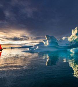 Greenland Star Sunset - ©Marc Pelissier