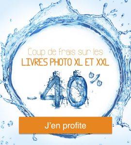 Promo sur les livres photo XL et XXL de Joomeo